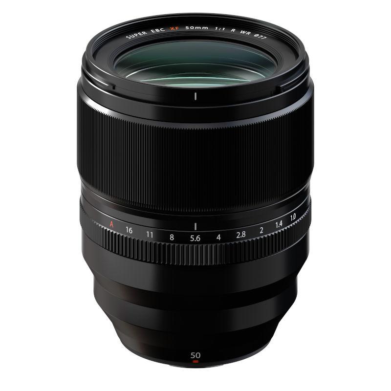 Fujinon XF50mmF1.0 R WR -- fast lens for Fujifilm mirrorless cameras