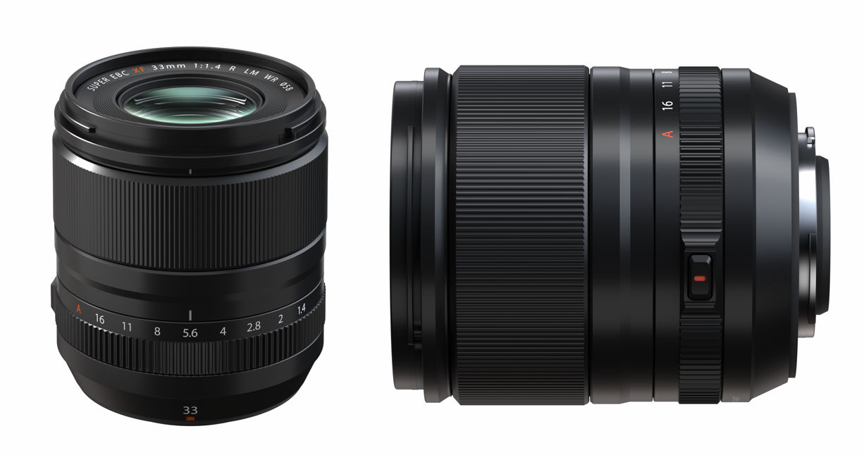 New FUJINON XF lenses - XF23mmF1.4 und XF33mmF1.4