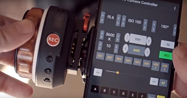 Slashcam News Cda Tek 3c Cinema Camera Control V1 4 Supports Tilta Nucleus Nano
