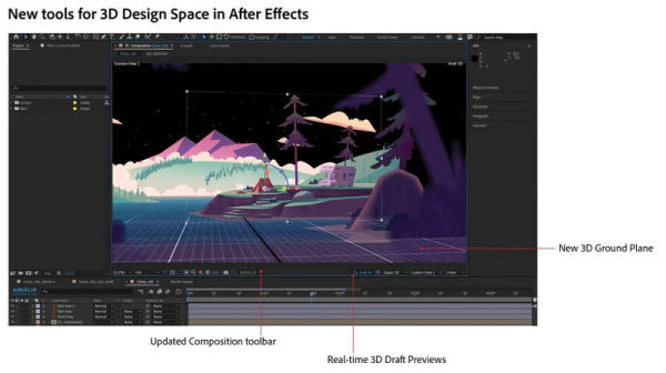 3D-Spaces