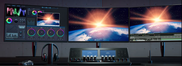 Asus-ProArt-Display-PA32UCG-MultiMonitor