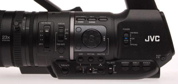 JVC_HM650_controls