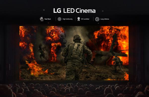 LG-LED-Kinoleinwand