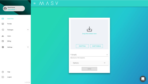 MASV-Interface