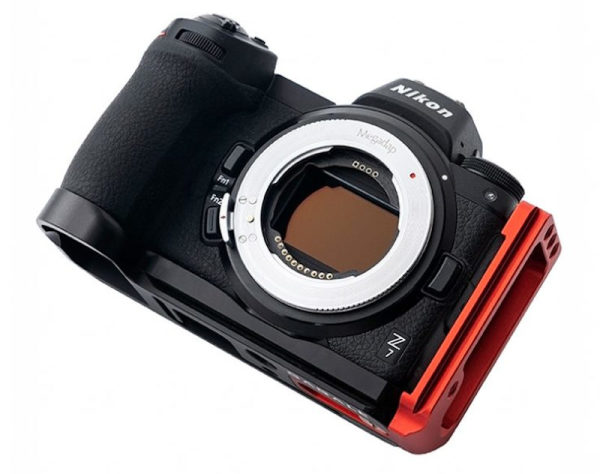 Megadap-Adapter-on-Camera
