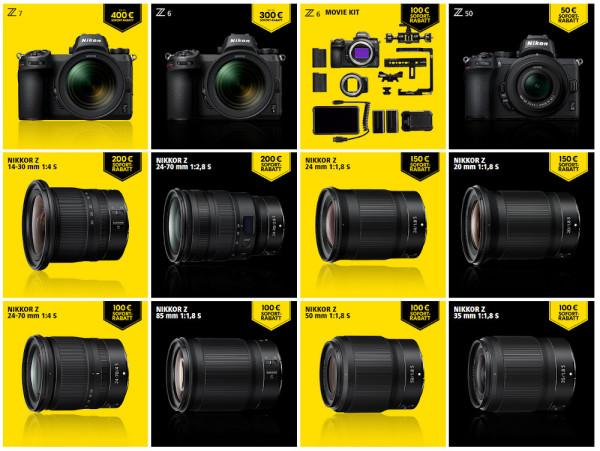 Nikon-Aktion