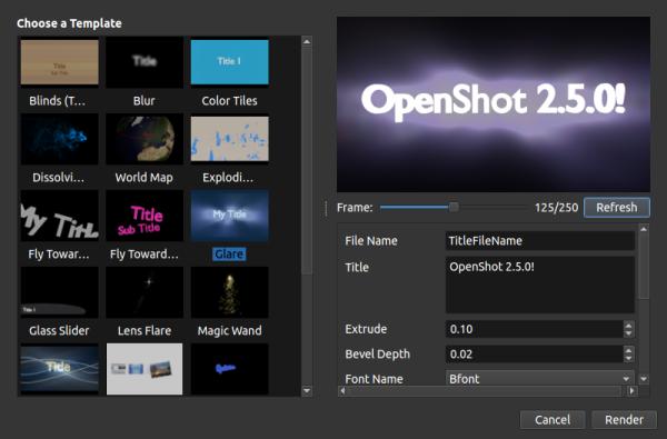OpenShot-Blender