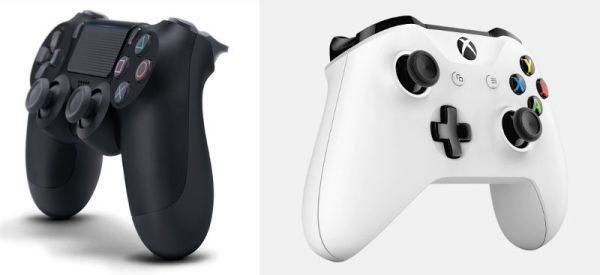 PS4_DualShock_Microsoft_Xbox_Controller