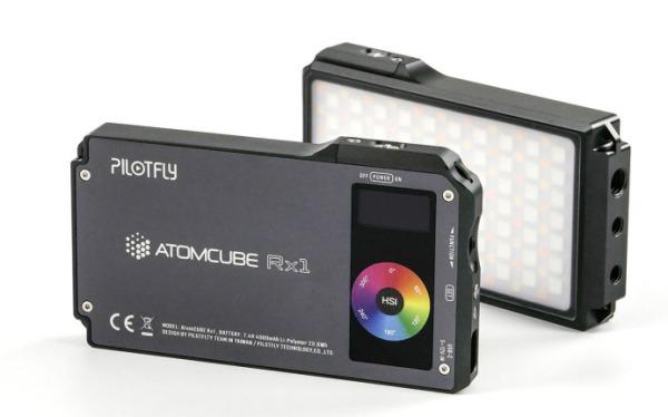 Pilotfly-atomcube-rx1-rgbcw-video-light
