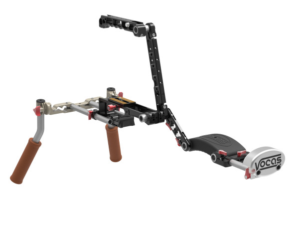 Slashcam News : Vocas with highly flexible shoulder/camera