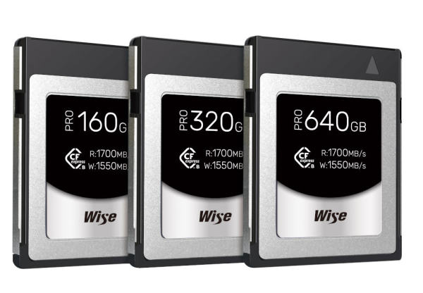Wise-CFexpress-Type-B-PRO-Memory-Cards
