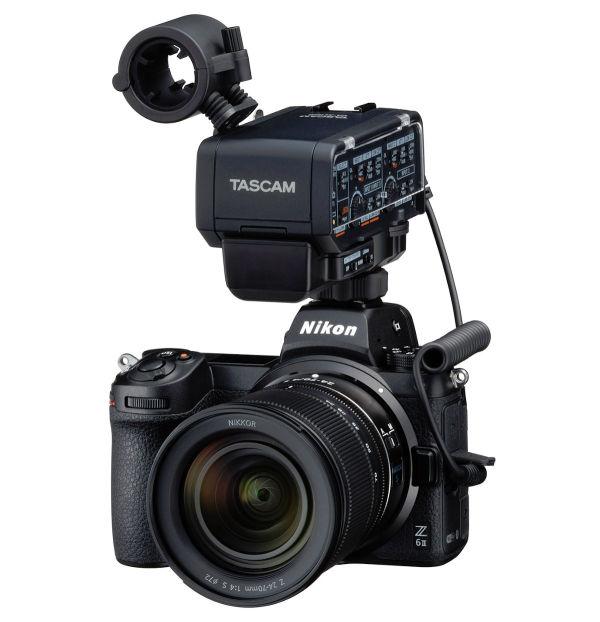 XLR-Mikrofonadapter_Tascam_nikon