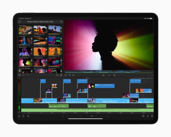 iPad-Pro-Videoschnitt