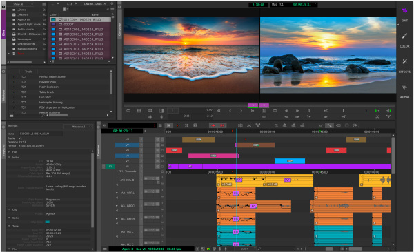 mediaComposer2019EditWorkspaces