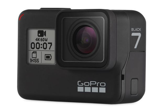 GoPro Hero 7 Black Actioncam offers HyperSmooth stabilisation and live streaming // Photokina 2018