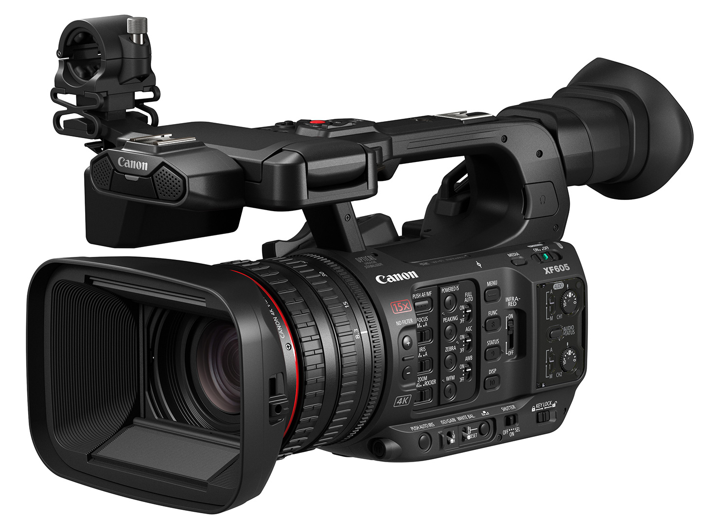 New professional camcorder from Canon - XF605