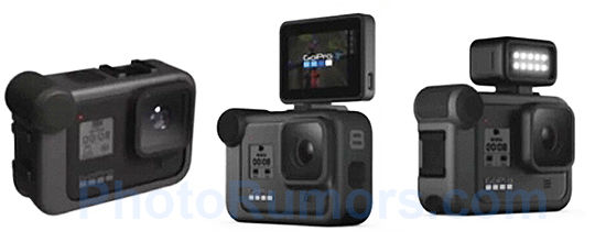 GoPro Hero 8 leak -- more fps and accessories?