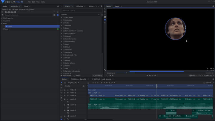HitFilm Express 13 -- free edting- and VFX-program gets an update