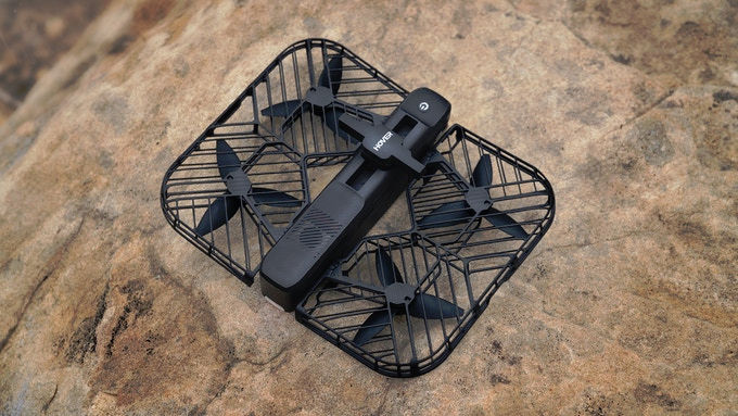 Hover 2 camera drone -- tracks you automatically