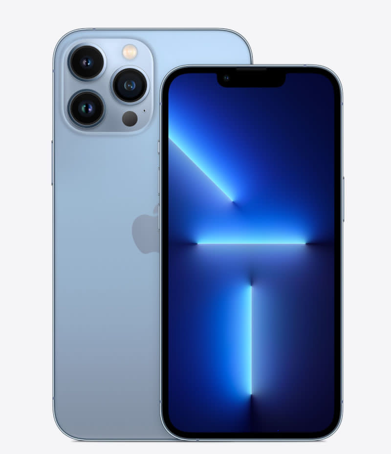 Apple iPhone 13 Pro with ProRes recording on up to 1 TB of storage and retroactive bokeh