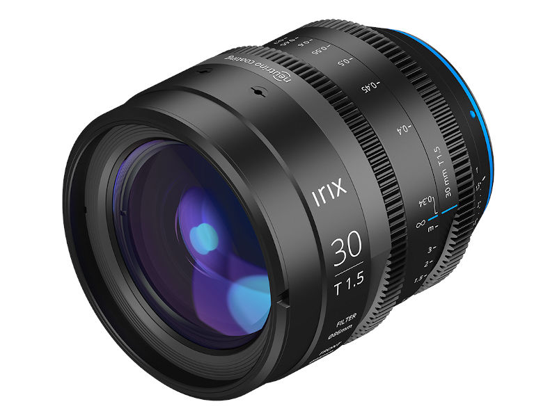 Irix 30mm T1.5 cine lens announced, including L- and Z mount options