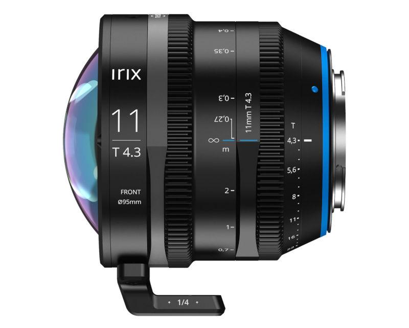 Irix Cine 11mm T4.3 wide angle lens announced // IBC 2019