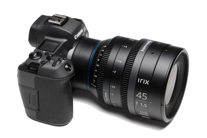 Irix cine lenses are now available for Canon RF-Mount