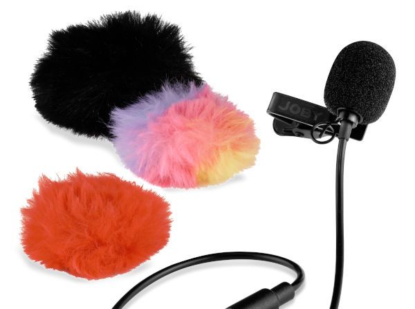 New Joby accessoires for vloggers: Wavo Lav Mobile microphone and Beamo ringlight