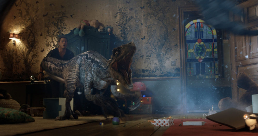 Animatronics meets CGI -- how the dinosaurs in Jurassic World: Fallen Kingdom came to life