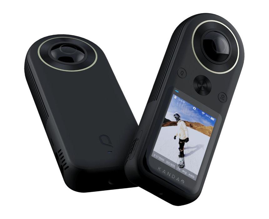 Hgher resolution for 360°: Kandao QooCam 8K Kamera announced