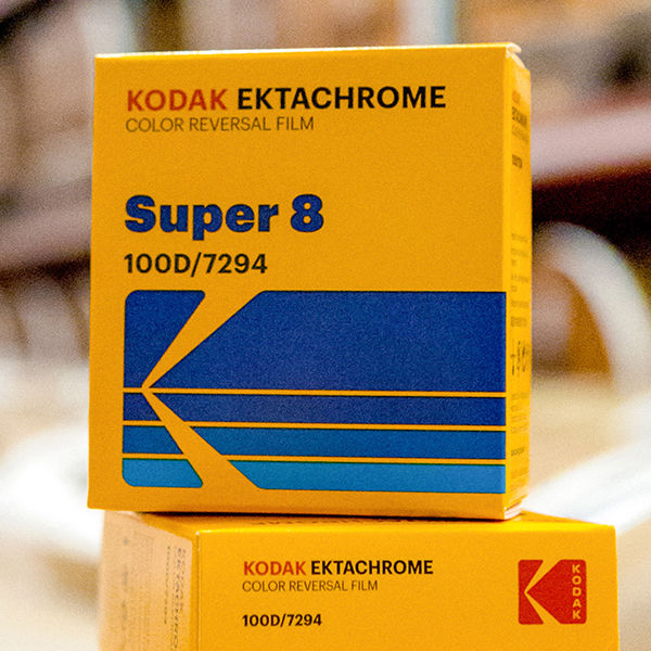 Film is back: Kodak EKTACHROME Color Reversal Film for Super8 and 16mm