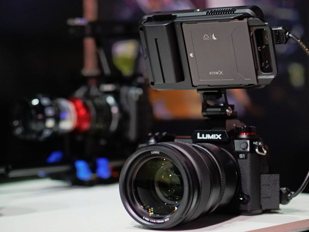 Panasonic Lumix S1: 4K 10-bit 422 HDR/HLG recording from start with Atomos Ninja V and Inferno