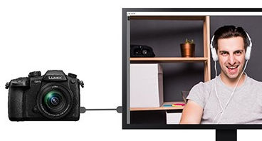 Free LUMIX Tether for Streaming tool lets you use come Pansonic cameras as webcam