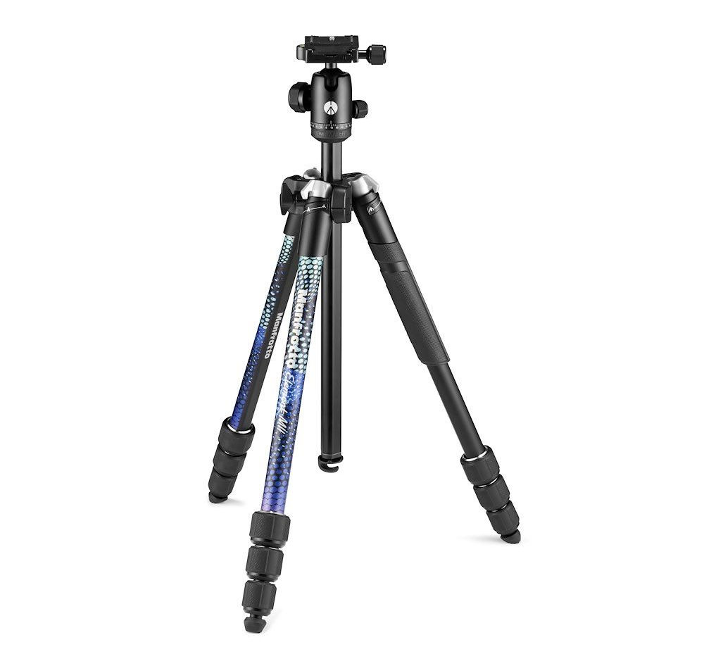 Manfrotto: new travel tripod collection Element MII