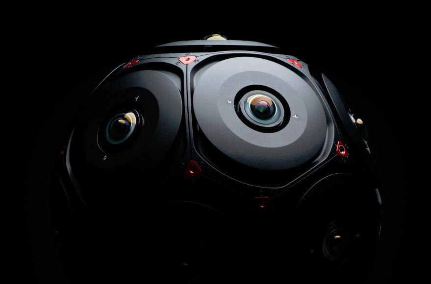 16x Helium 8K: Facebook and RED present Manifold VR-Kamera mit 6DoF