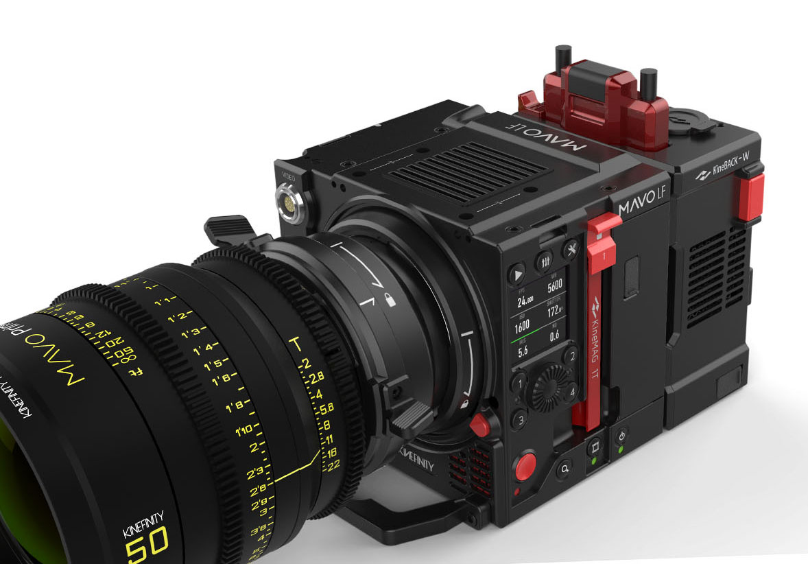 Kinefinity MAVO LF - 6K full format RAW cine camera from October for 12,000 dollars