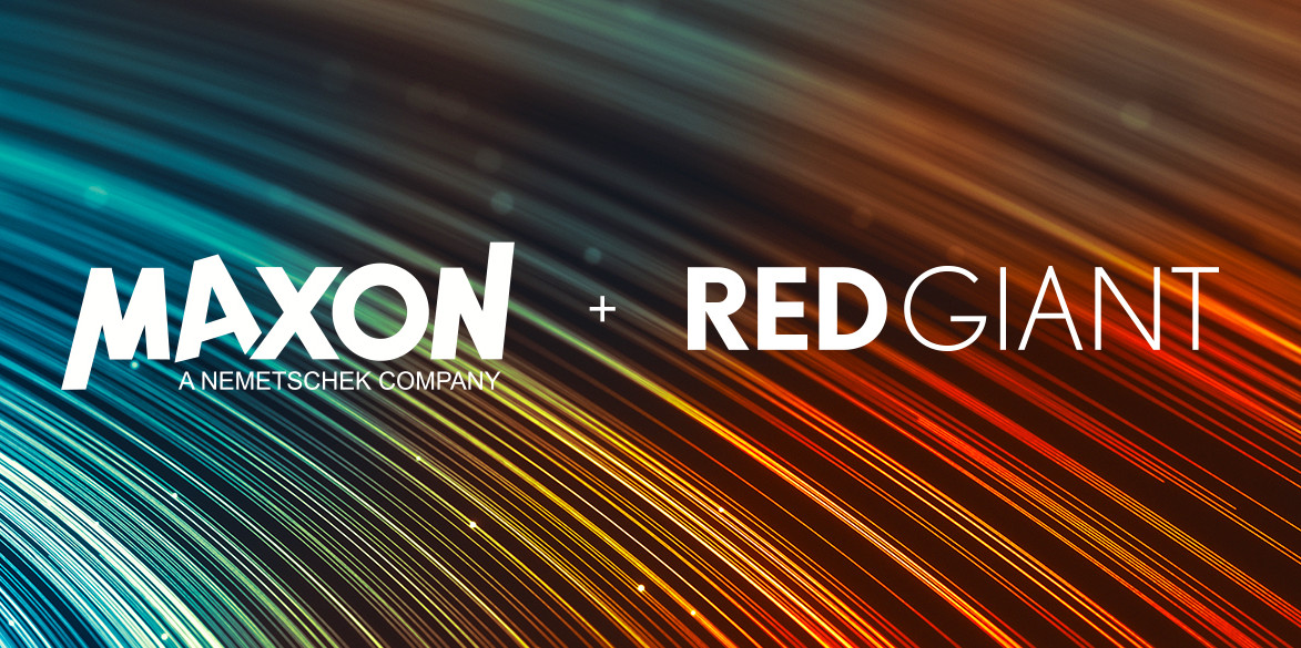 Maxon and Red Giant merge