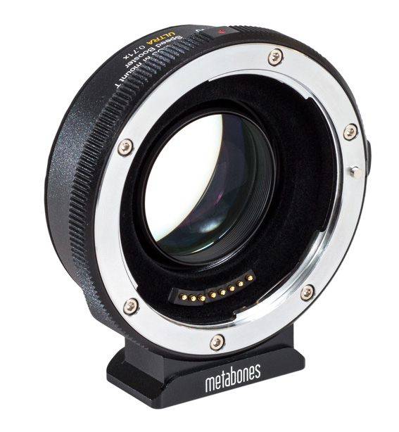 Full format on EOS-M: Metabones now also with Canon EF to EOS M Speed Booster Ultra 0.71