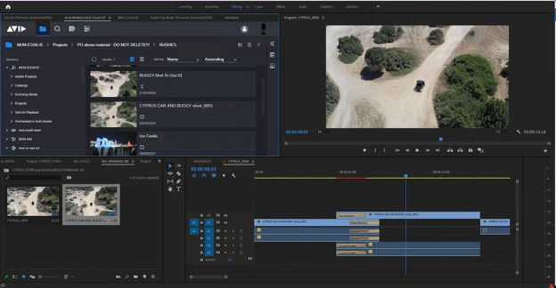 Seemless integration: Adobe Premiere Pro gets an Avid MediaCentral panel