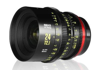 New FF cine prime lens Meike 24mmT2.1 comes in November
