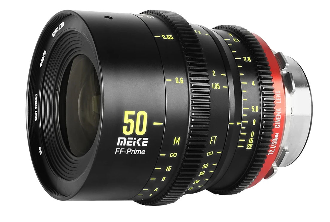 First Meike Cine FF-Prime lens 50mm T2.1 to come in autumn