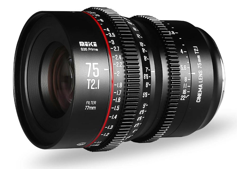 Meike expands its S35 cine lens series -- 75mm T2.1