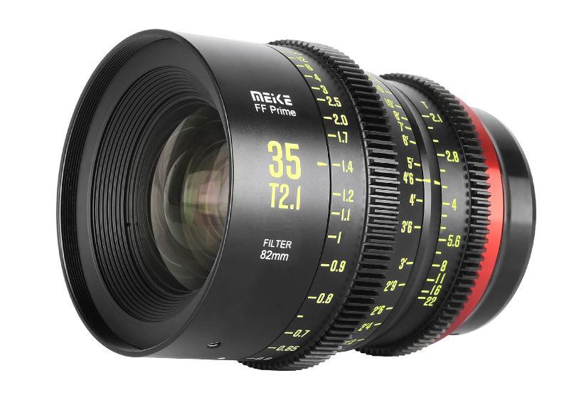 Meike announces 35mm T2.1 -- second cine-prime for full frame