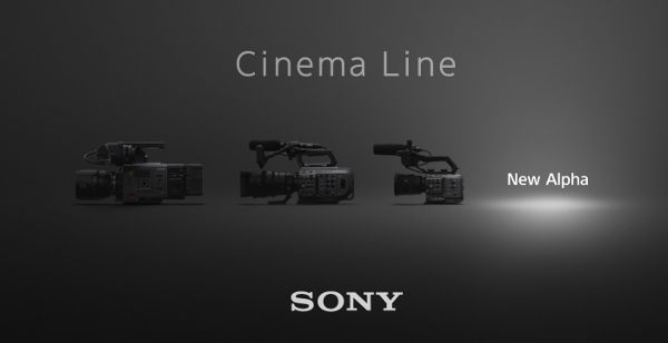 New Alpha camera coming soon in Sony´s Cinema Line