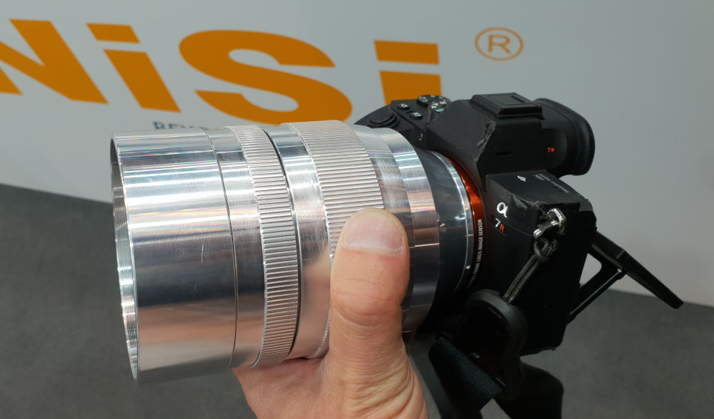 NiSi is develloping a new Cine lens series with T1.1 // Photokina 2018