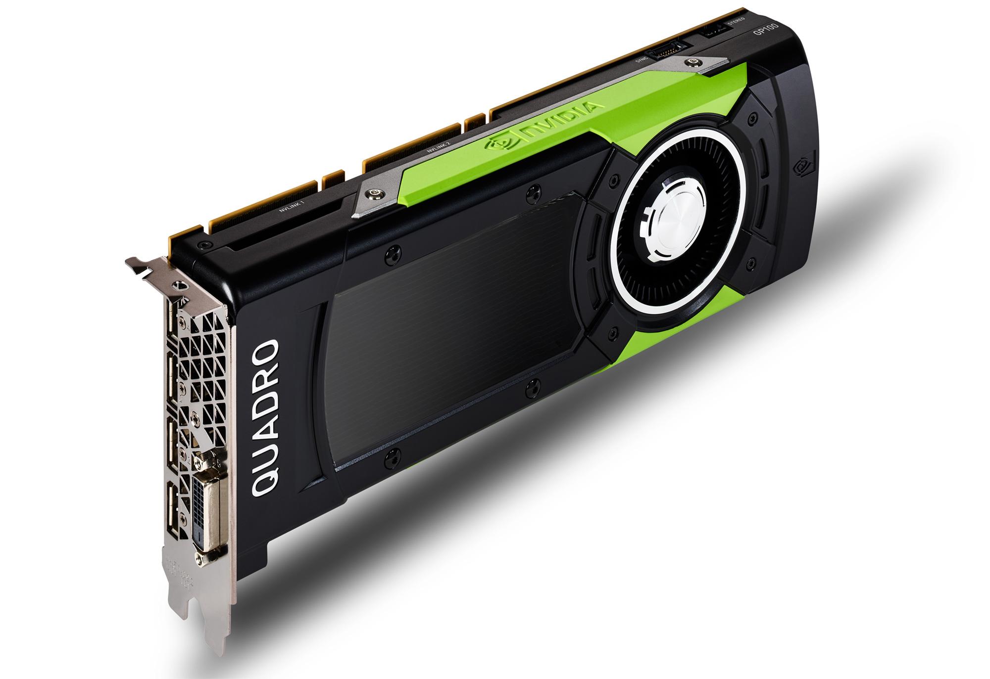 Nvidia bringt größten Pascal-Chip als Workstation Karte - Quadro GP100