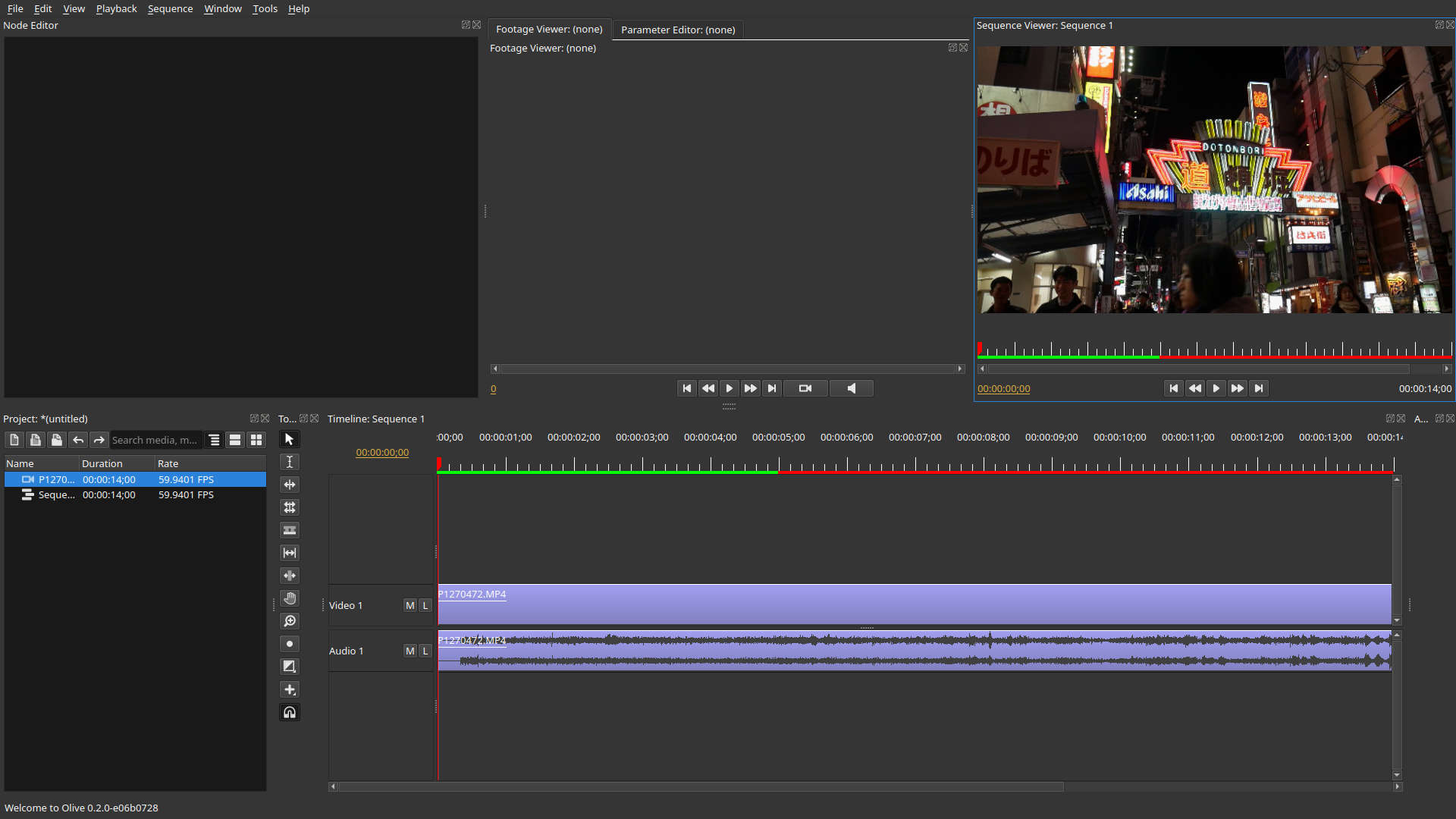 Olive 0.2 Video Editor - complete rewrite with interesting features