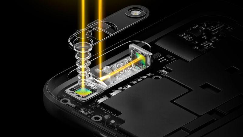 Umgelenkt: Optischer Zoom für Smartphone-Kameras per Prisma