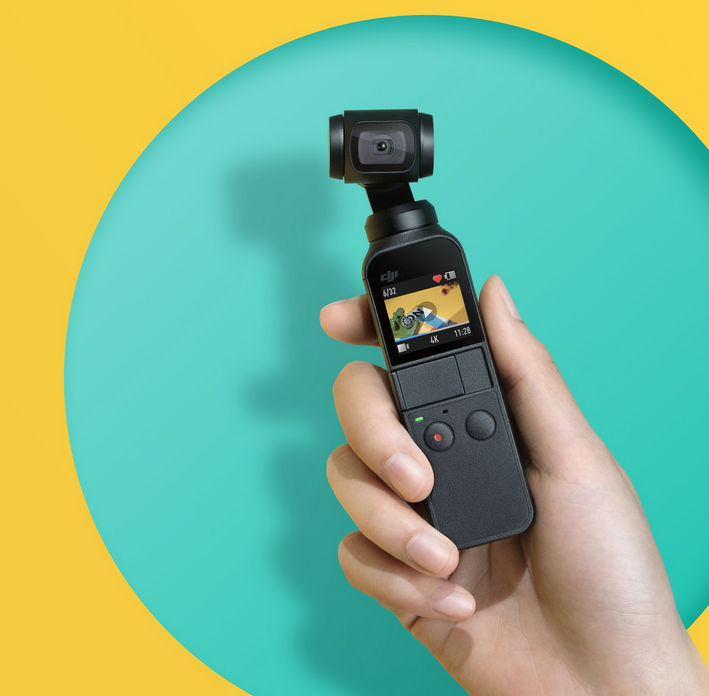 DJI Osmo Pocket starts shipping, gets new slow-motion mode (via firmware-update)