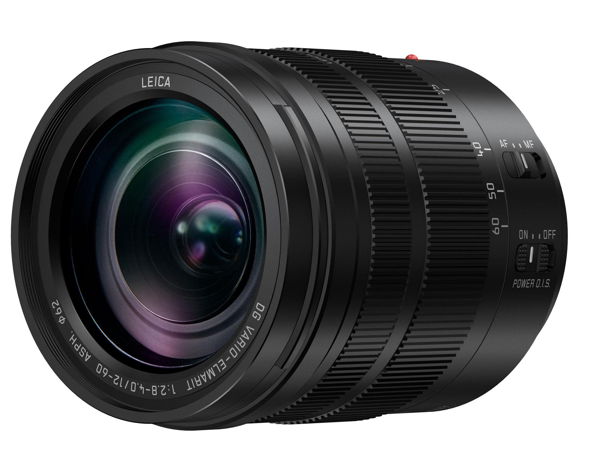 New MFT lenses from Panasonic - inter alia Leica 12-60mm // CES 2017